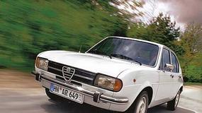 Alfa Romeo Alfasud - Zgrabna Alfa z południa