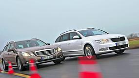 Skoda Superb atakuje Mercedesa klasy E - Pojedynek: Skoda królem kombi?