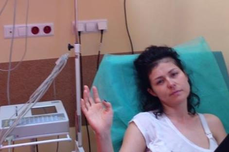 Kasia Cichopek W Szpitalu Zdjęcia To Przez Odwodnienie