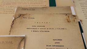 Przekazanie archiwaliów katyńskich