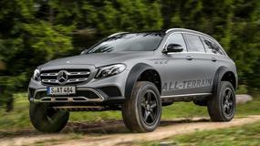 Mercedes-Benz klasy E All-Terrain na szczudłach pokona każdą przeszkodę