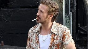 "Ryan Gosling na planie filmu ""The Nice Guys"""