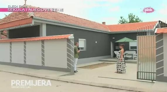 Kuća Miljane Kulić danas