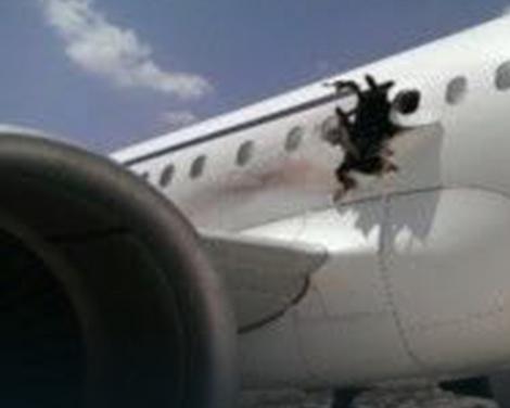 Avion koji je Vodopivec uspeo da prizemlji