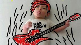 Dziecko jak z obrazka - niezwykła sesja zdjęciowa