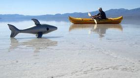 Jezero u DOLINI SMRTI: Ovako izgleda vožnja kajakom po jednom od najsušnijih mesta na planeti
