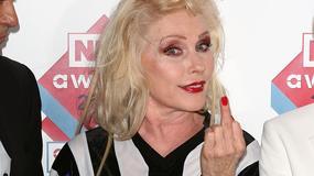 Debbie Harry - 68-letnia wokalistka na NME Awards 2014 pokazała, co potrafi
