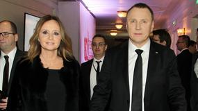 Jacek Kurski i Joanna Klimek na Gali Mistrzów Sportu