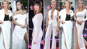 Wielka Gala Gwiazd Plejady 2017: tego wieczoru piękne panie postawiły na biel. Która wypadła najlepiej?