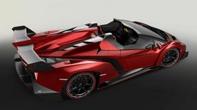Lamborghini Veneno Roadster już oficjalnie