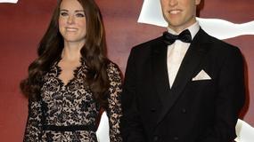 Woskowe figury księżnej Catherine i księcia Williama