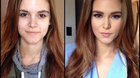 """Modelki """"Playboya"""" i gwiazdy porno przed i po nałożeniu makijażu"""