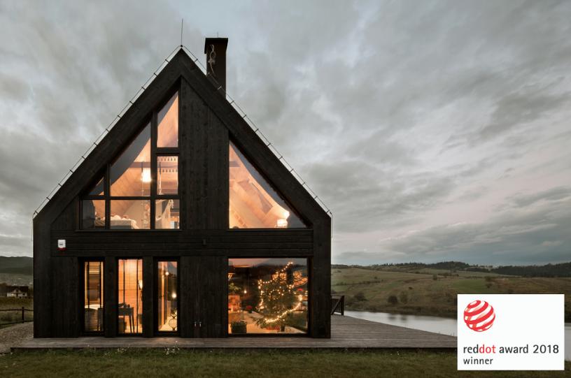 Pasterska Chata Najlepiej Zaprojektowany Dom 2018