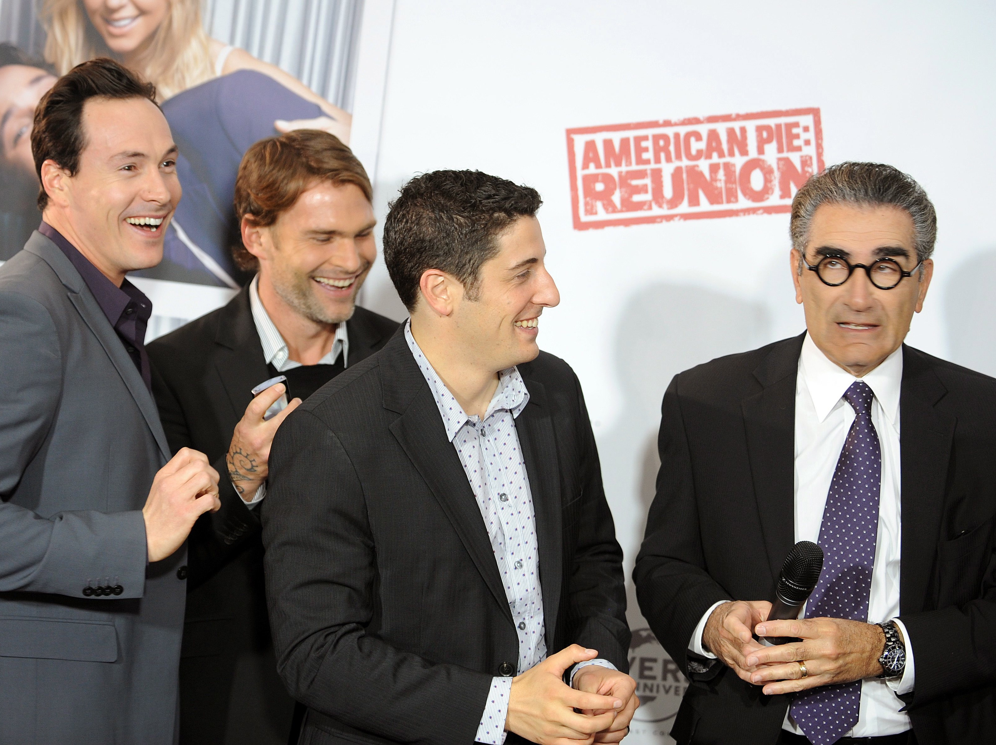 Chris Klein, Seann William Scott, Jason Biggs i Eugene Levy