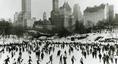 Lodowisko w Central Parku, Nowy Jork, 1960 r.