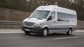 Mercedes Sprinter 319 CDI: olbrzym o delikatnym charakterze