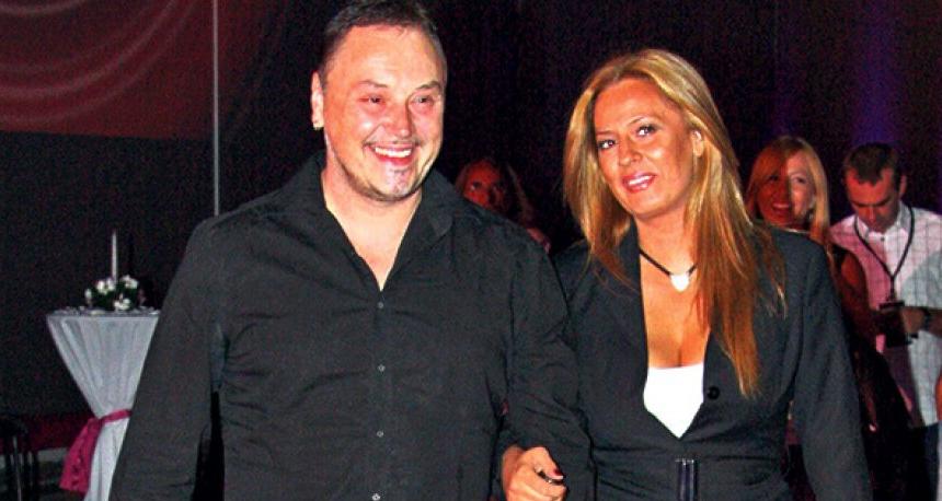 Nenad Knežević Knez i bivša supruga Nina