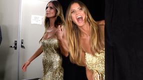 Heidi Klum cała w złocie na festiwalu. Wygląda jak milion dolarów!