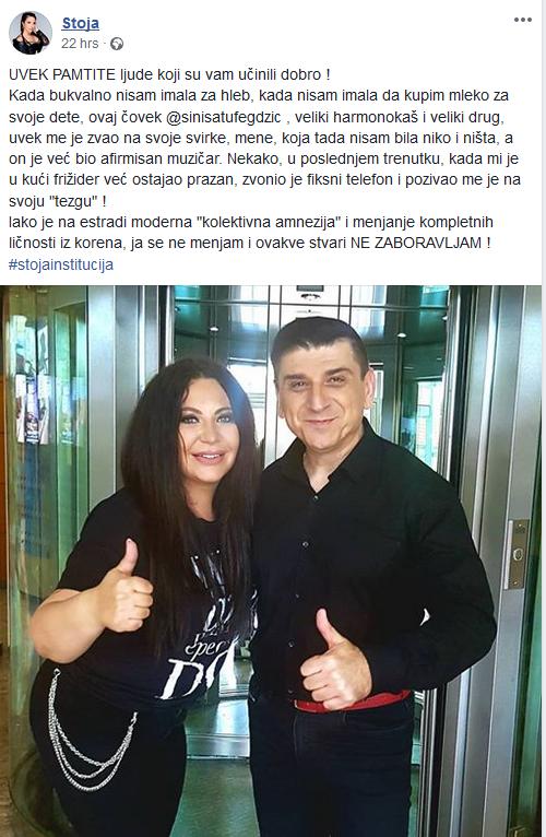 Stoja Novaković i Siniša Tufehdžić