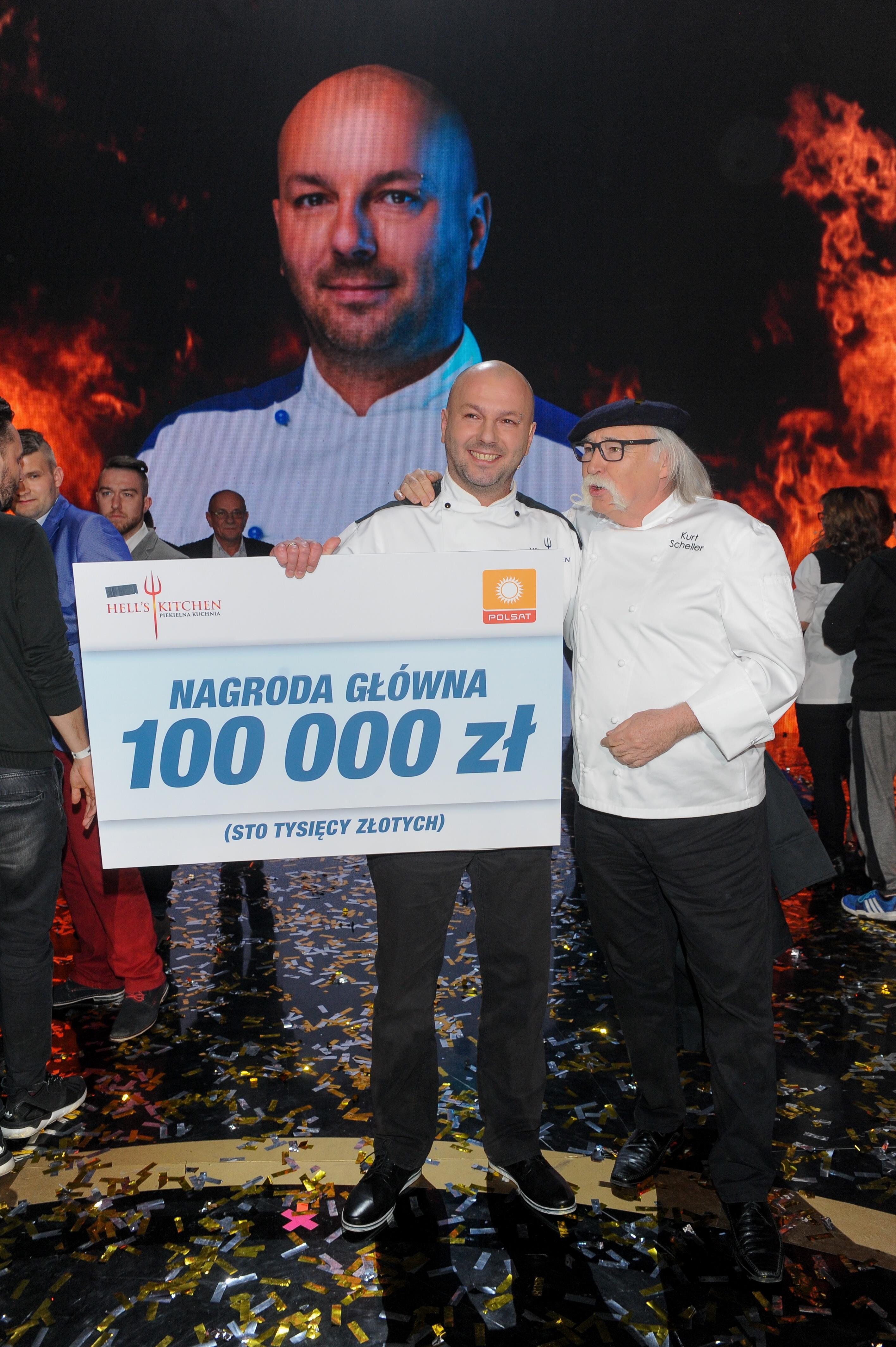 To On Wygrał Hells Kitchen Michał Suchnowski