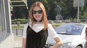 Ada Fijał na konferencji Warsaw Fashion Week