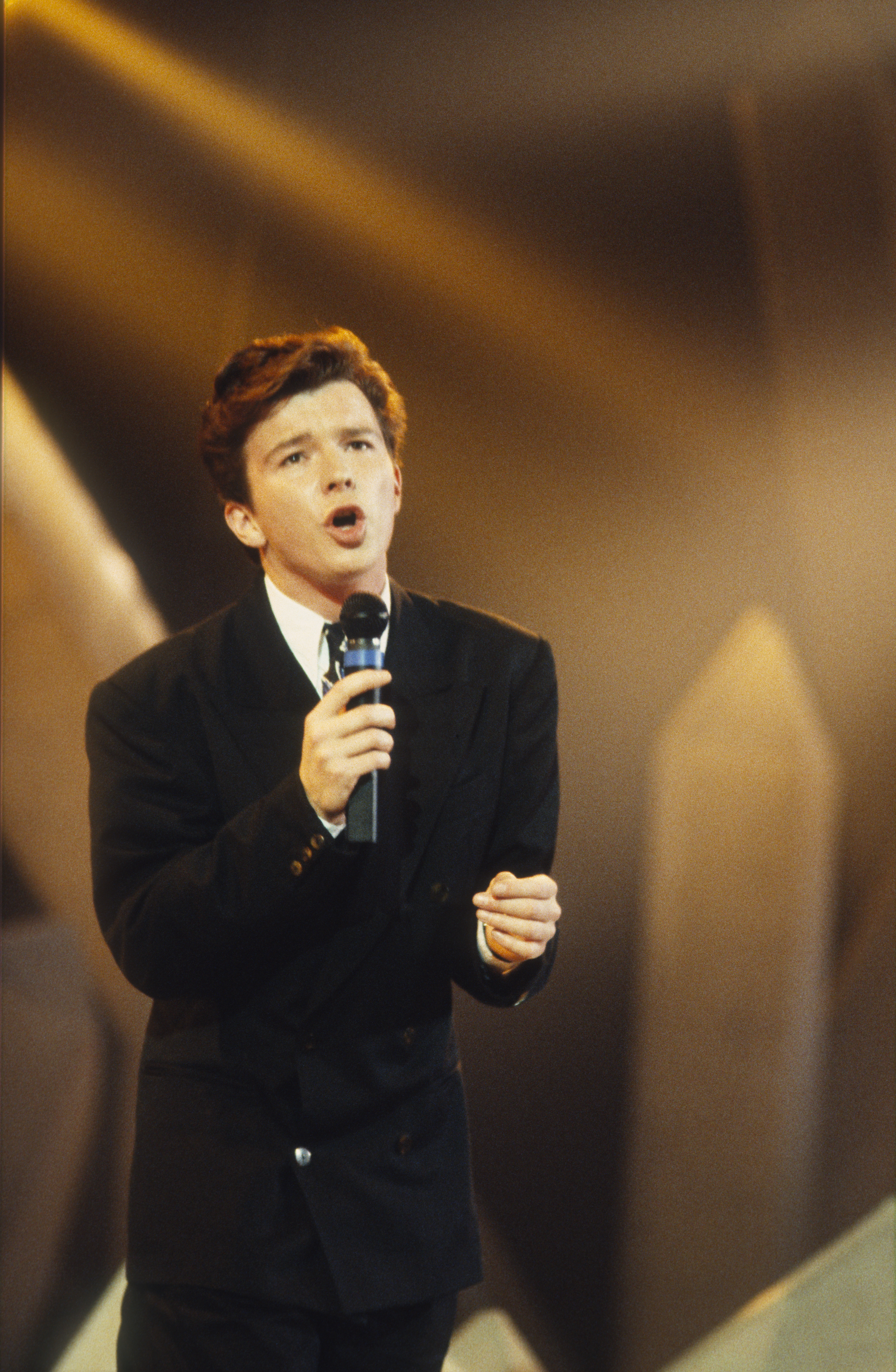 Rick Astley a 80-as években / Fotó: Getty Images