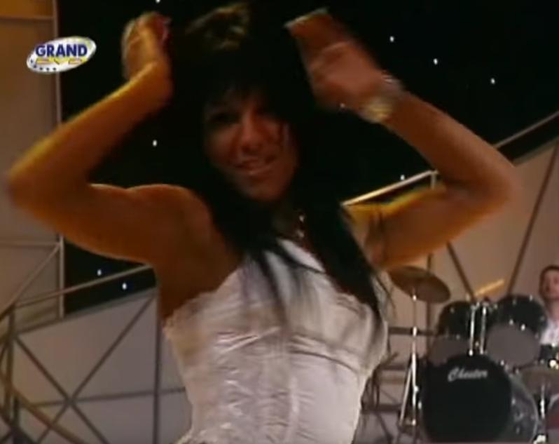 Sandra Afrika u fazi igračice Mileta Kitića