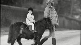Niezwykłe zapomniane zdjęcia z dzieciństwa księcia Williama i Harrego