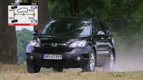 Używana Honda CR-V III. Asfalt to jej żywioł