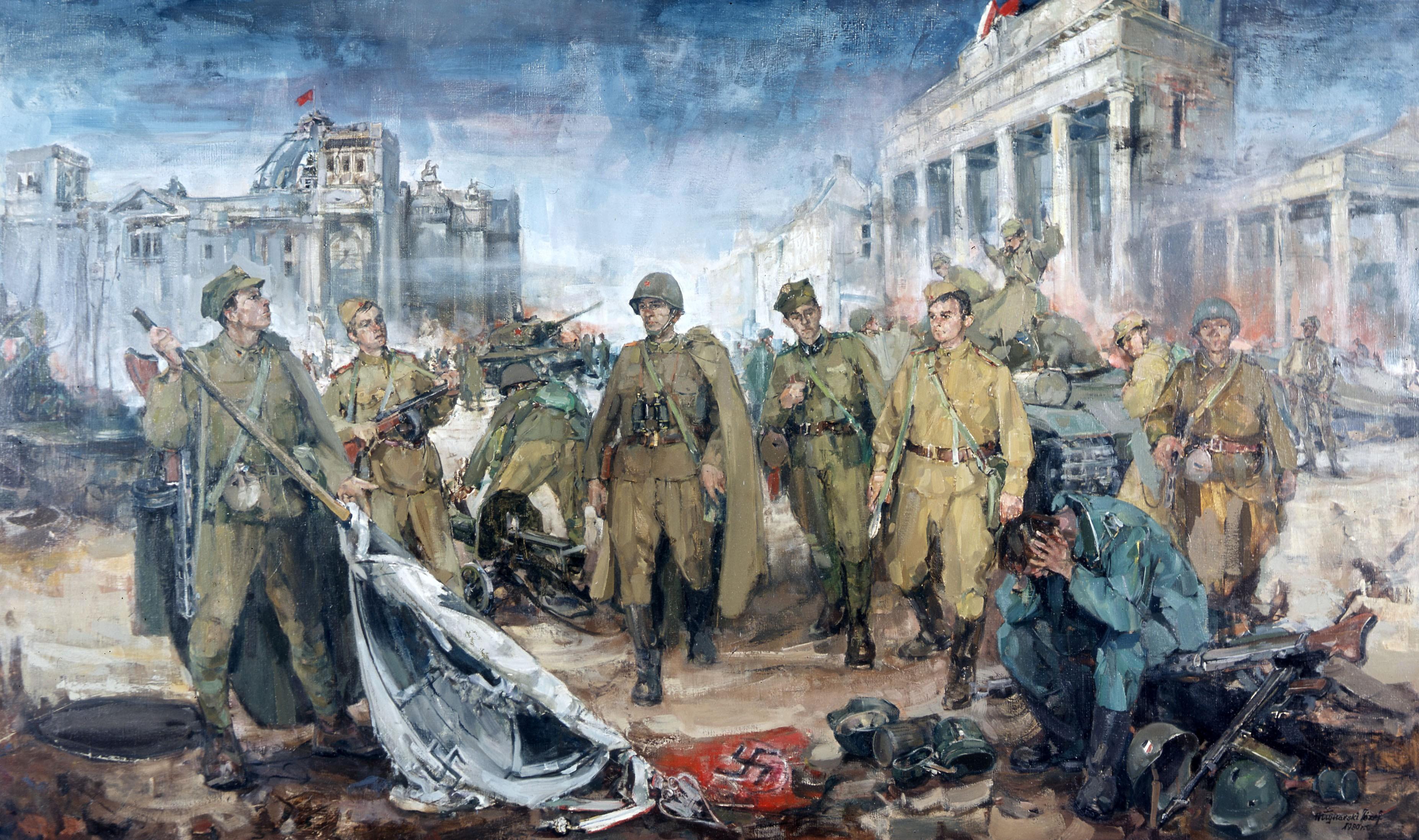 II Wojna Światowa. W zdobyciu Berlina w 1945 roku mieli