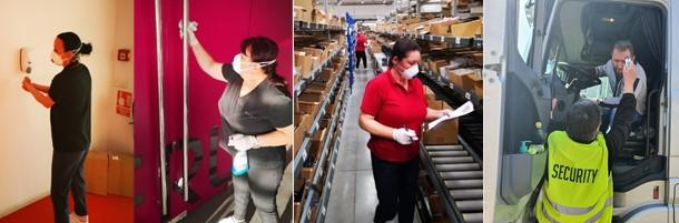 Čelnici kompanije svojim zaposlenima obezbedili maksimalne zdravstvene i higijenske uslove