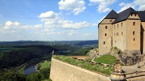 Niemcy - Szwajcaria Saksońska - Bastei i twierdza Königstein
