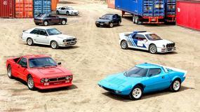 Niesamowita kolekcja rajdowych aut na sprzedaż