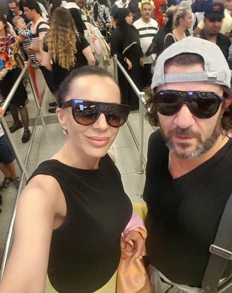 Romana Panić i Aca Lukas