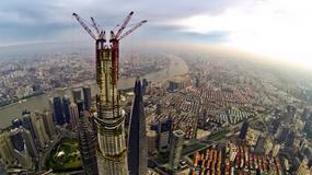 Shanghai Tower - drugi najwyższy budynek na świecie na ukończeniu