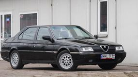 Alfa Romeo 164: Zabawka dla mechanika