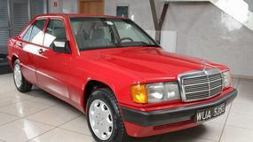 Mercedes szuka najstarszych modeli
