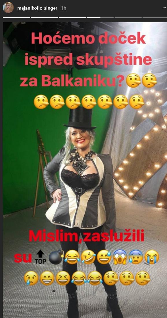 Maja Nikolić o Balkaniki