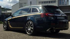 Opel Insignia wzmocniony do 379 KM