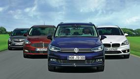 Król vanów pilnie poszukiwany: nowy VW Touran kontra BMW 216d Gran Tourer, Ford Grand C-Max, Opel Zafira Tourer