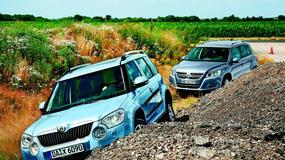 Skoda Yeti kontra Volkswagen Tiguan - Rodzinne starcie