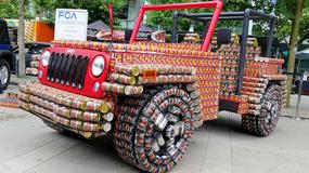Jeep Wrangler z puszek