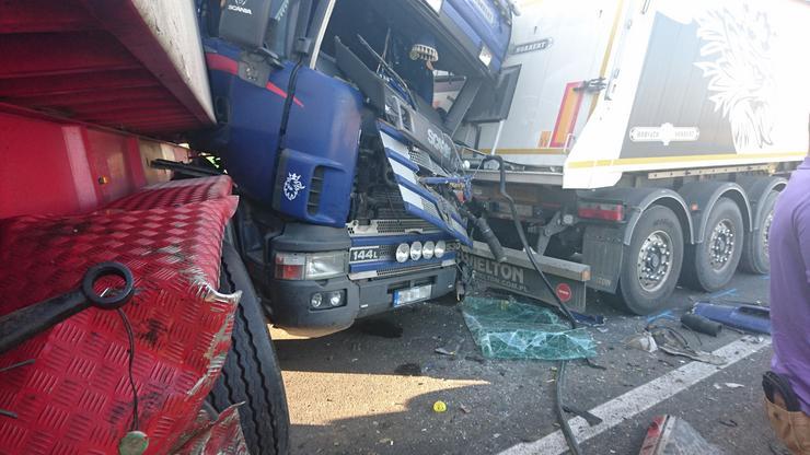 A halálos kimenetelű baleset körülményei egyelőre tisztázatlanok /Fotó: Blikk