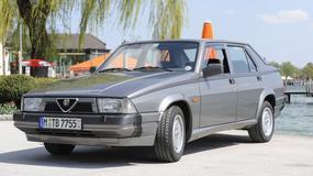 Alfa Romeo 75 - Jubileuszowy model z turbodopingiem