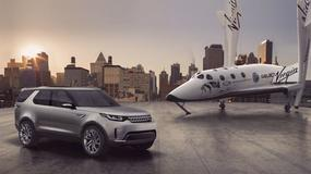 Land Rover Discovery Vision Concept - kosmiczny debiut