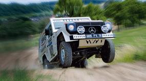 Test Mercedesa 280 GE Dakar: oto, wielka klasa Mercedesa