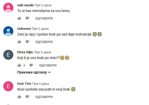 Komentatori su ironični
