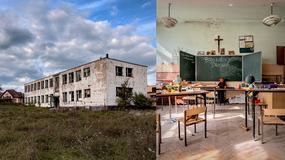 Opuszczona szkoła widmo na Śląsku
