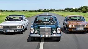 Klasyki dla wymagających - Opel Admiral kontra Mercedes 280S i Jaguar XJ6