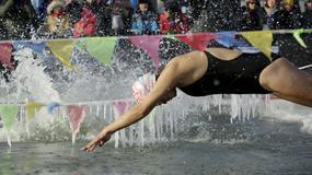 Takmičenje u ledenom plivanju